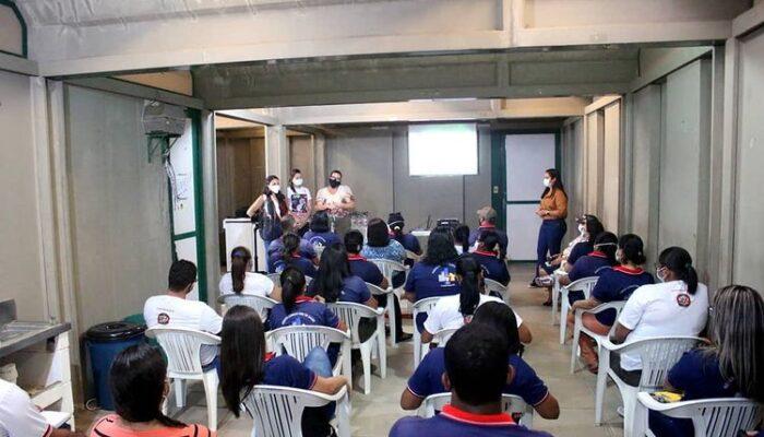 Secretaria de Saúde promove o acolhimento dos ACS em AÇÃO com palestra